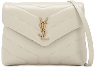 Saint Laurent Toy Loulou Monogram Leather Bag