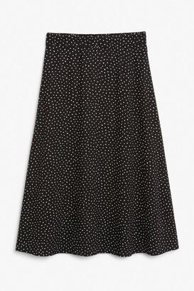 Monki Lightweight midi skirt