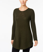 Style&Co. Style & Co. Scoop-Neck Tunic Sweater, Only at Macy's