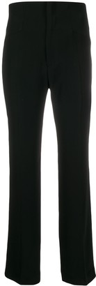 Redemption High-Rise Straight Trousers