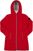 Point Zero Ruby Hooded Longline Puffer Jacket