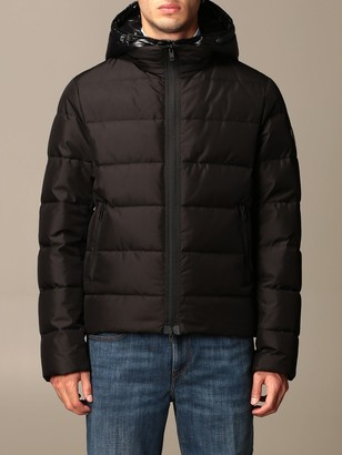 Fay Nathan Classic Down Jacket With Hood And Zip