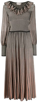 Alexander McQueen Striped Knitted Dress
