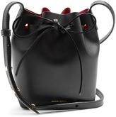 Mansur Gavriel Pink-lined Mini Mini leather bucket bag
