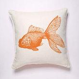 Goldfish Linen Pillow