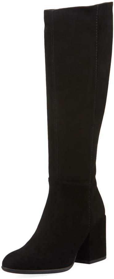 Sesto Meucci Vonnie Tall Block-Heel Boots