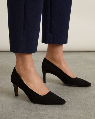 Jigsaw Delia Leather Court Shoe