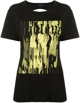 Ann Demeulemeester Fine cut-out T-shirt