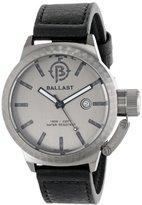 Trafalgar Ballast Men's BL-3131-05 Machined Analog Display Swiss Quartz Black Watch