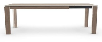 Calligaris Dining Table Base Color: Lead Gray, Top Color: Natural
