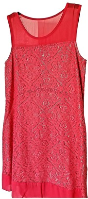 Marc by Marc Jacobs Pink Lace Dresses