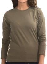 Neon Buddha Stretch Jersey Crew Neck Shirt - Long Sleeve (For Women)