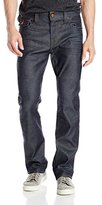 True Religion Men's Badlands Ricky Relaxed Straight with Flap Jean