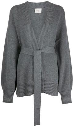 Le Kasha Oversized Belted Cardigan