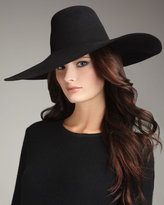 Lanvin Wide-Brim Felt Hat