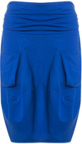 Isolde Roth Plus Size Jersey skirt with slip pockets