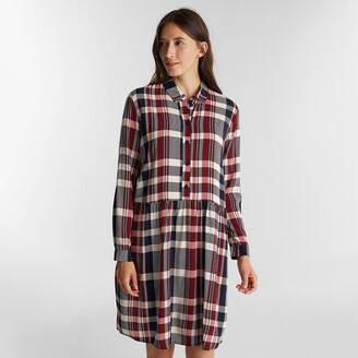 Esprit Mini Shirt Dress with Long Sleeves
