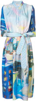 Tsumori Chisato painting print dress
