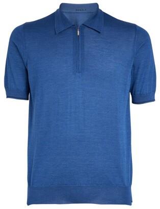 Zilli Zip-Up Polo Shirt
