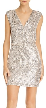 LIKELY Brienne Sequined Mini Dress