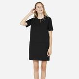 Everlane The Ponte Short-Sleeve Dress