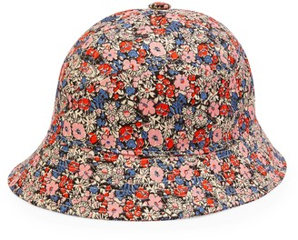 Gucci Liberty floral canvas bucket hat