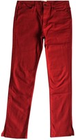 Simon Miller Red Cotton Jeans