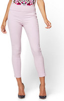 New York & Co. 7th Avenue Pant - High-Waist Pull-On Ankle Legging - Lavender - Tall