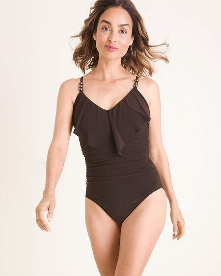 Solid Isabel One-Piece Swimsuit