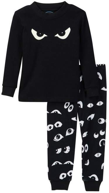Sara's Prints Long John Pajamas (Toddler, Little Kid, & Big Kid)