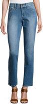 NYDJ Sheri Skinny Stretch-Denim Jeans, Blue