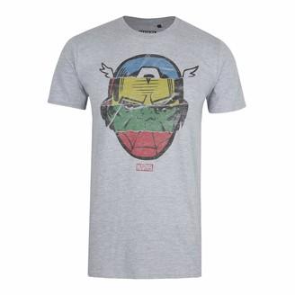 Marvel Men's Avengers Faces T Shirt XXL
