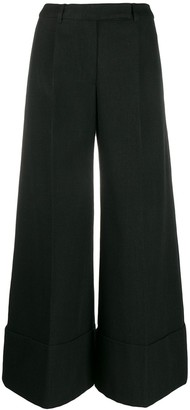 Simone Rocha Cropped Wide Leg Trousers
