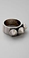Jewelry Triple Diamond Ring