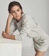 Thumbnail for your product : Reiss Jetta - Jersey Sweater Dress in Grey Marl