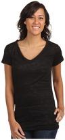 Alternative Apparel The Diane Burnout Tunic (Black) - Apparel