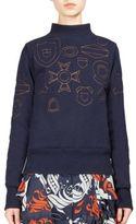 Sacai Graphic Wool Sweater