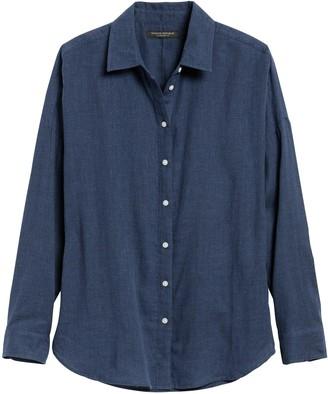 Banana Republic JAPAN EXCLUSIVE Oversized Cotton Gauze Shirt