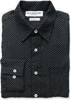 Nick Graham Everywhere Men's Neat Print Polyester Dress Shirt