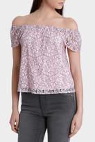 Miss Shop Lace Off Shoulder Top