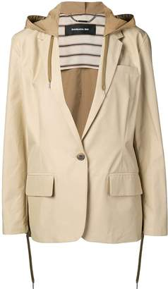 Barbara Bui hooded single-breasted blazer
