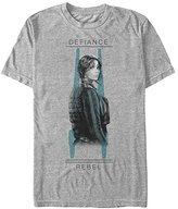 Star Wars Men's Rogue One Jyn Overlay Graphic T-Shirt