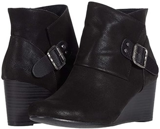 Blowfish Baldwin (Black Raven/Amazon Rawhide) Women's Pull-on Boots