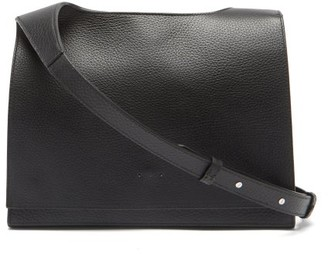 Aesther Ekme Messenger Grained-leather Cross-body Bag - Black