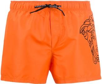 Versace Pop Medusa swim shorts