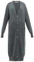 Extreme Cashmere - No. 125 Coco Long-line Stretch-cashmere Cardigan - Womens - Khaki