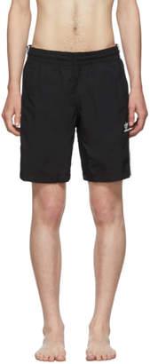 adidas Black Striped Swim Shorts