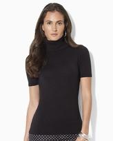 Lauren Ralph Lauren Short Sleeve Turtleneck