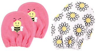 Baby Vision Luvable Friends Basic Scratch Mittens, 2-Pack, 0-6 Months