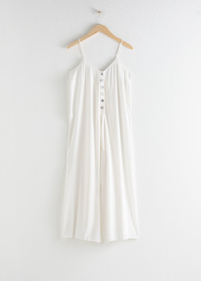 And other stories Relaxed Spaghetti Strap Jumpsuit